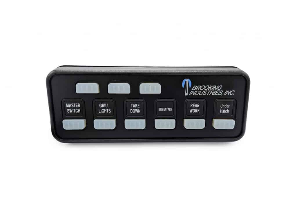 Brooking Industries LED Consoles & Switches Smart Panels BR 997